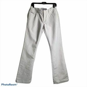Antik Denim Womens Off White Jeans 30